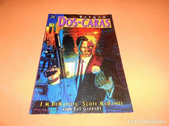 BATMAN : DOS CARAS . J.M. DEMATTEIS - SCOTT MCDANIEL / DC - ZINCO. BUEN ESTADO (Tebeos y Comics - Zinco - Batman)