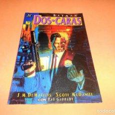 Cómics: BATMAN : DOS CARAS . J.M. DEMATTEIS - SCOTT MCDANIEL / DC - ZINCO. BUEN ESTADO. Lote 176794702