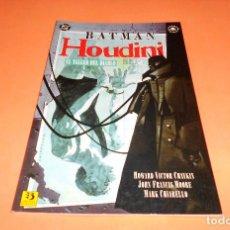 Cómics: BATMAN / HOUDINI: EL TALLER DEL DIABLO POR HOWARD CHAIKIN, J. FRANCIS MOORE, CHIARELLO-ZINCO(1993). Lote 116902503