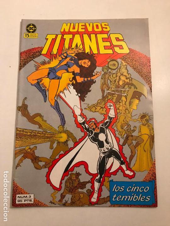 NUEVOS TITANES V1 V1 Nº 3. ZINCO 1984 (Tebeos y Comics - Zinco - Nuevos Titanes)