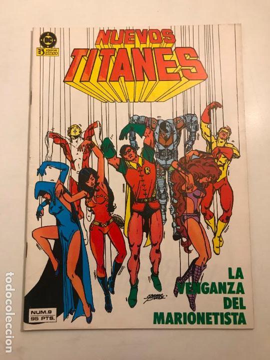 NUEVOS TITANES V1 V1 Nº 9. ZINCO 1984 (Tebeos y Comics - Zinco - Nuevos Titanes)