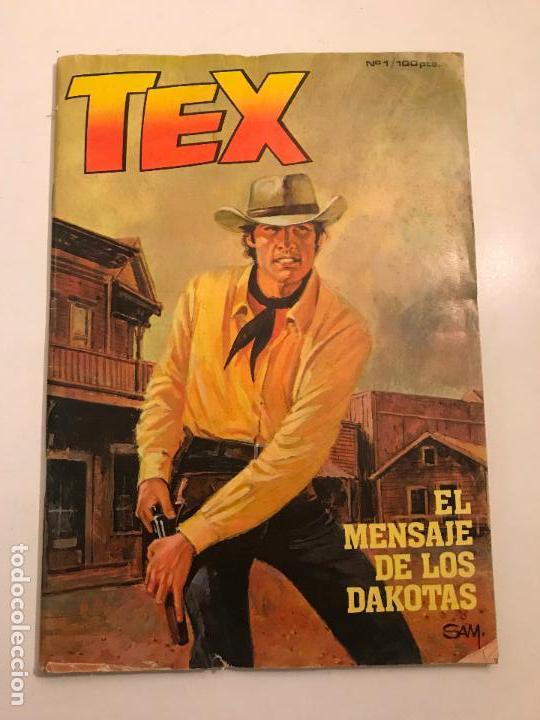 Cómics: COLECCION COMPLETA DE 13 NUMEROS A FALTA DE 1. TEX. ZINCO 1983 - Foto 2 - 116965379