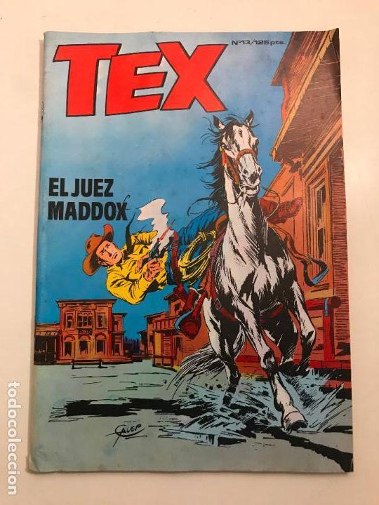 Cómics: COLECCION COMPLETA DE 13 NUMEROS A FALTA DE 1. TEX. ZINCO 1983 - Foto 13 - 116965379