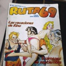 Cómics: RUTA 69 # 19, EDICIONES ZINCO, 1984. Lote 117060175