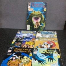 Cómics: DRAGONES Y MAZMORRAS, SERIE COMPLETA EN 12 EJEMPLARES - EDITA : ZINCO - AÑOS 80. Lote 92720088