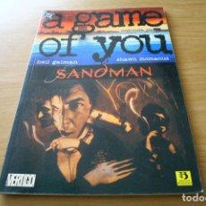 Cómics: SANDMAN 2 - A GAME OF YOU SEGUNDA PARTE - ZINCO. Lote 117385999
