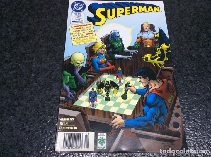SUPERMAN MUNDO SIN FUTURO -EDITA : VID ( ZINCO - DC ) (Tebeos y Comics - Zinco - Superman)
