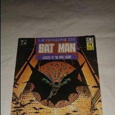 Comics - LEYENDAS DE BATMAN Nº 6 ESTADO BUENO - 117441391