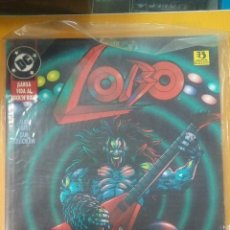 Cómics: COMIC LOBO. LARGA VIDA AL ROCK N ROLL. DC COMICS. Lote 117567843