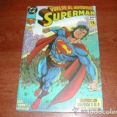Cómics: SUPERMAN Nº 5 AL 8, EDICIONES ZINCO, DC COMICS.. Lote 117649619