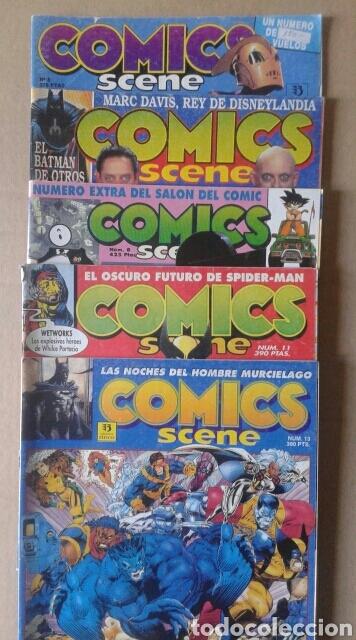 LOTE COMICS SCENE, NÚMEROS 5-6-8-11-13 (EDICIONES ZINCO, 1991-1993). TAMBIÉN SE VENDEN SUELTOS. (Tebeos y Comics - Zinco - Otros)