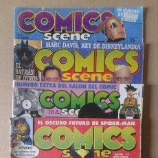 Cómics: LOTE COMICS SCENE, NÚMEROS 5-6-8-10-11-13 (EDICIONES ZINCO, 1991-1993). TAMBIÉN SE VENDEN SUELTOS.. Lote 117733455