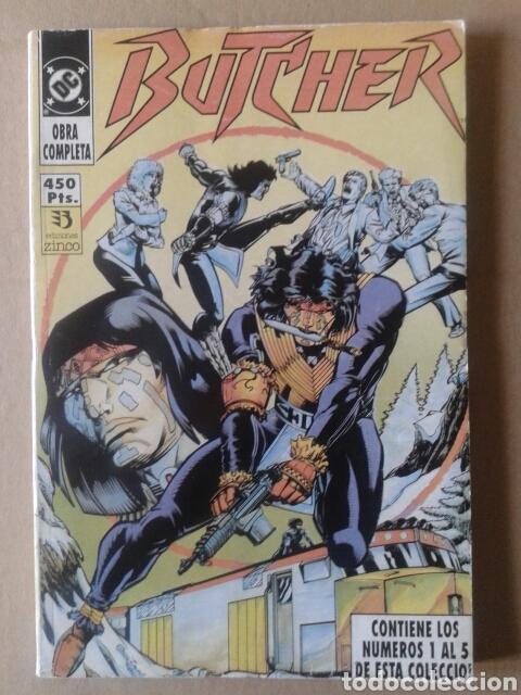 BUTCHER: OBRA COMPLETA EN RETAPADO. NÚMEROS 1 AL 5. EDICIONES ZINCO, 1991. (Tebeos y Comics - Zinco - Retapados)