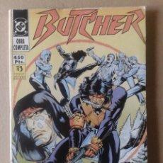 Cómics: BUTCHER: OBRA COMPLETA EN RETAPADO. NÚMEROS 1 AL 5. EDICIONES ZINCO, 1991.. Lote 117734095