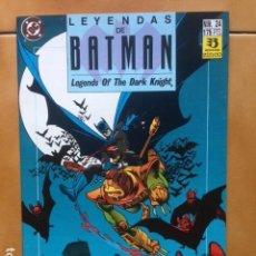 LEYENDAS DE BATMAN Nº 24 VOLADOR 1º parte POR HOWARD CHAYKIN Y GIL KANE - EDICIONES ZINCO
