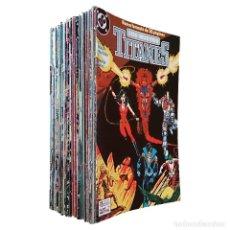 Cómics: NUEVOS TITANES VOL 2 / COLECCIÓN COMPLETA 41 NºS / DC / ZINCO 1989 (MARV WOLFMAN & GEORGE PÉREZ). Lote 70540009