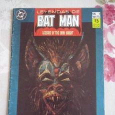 Cómics: ZINCO - LEYENDAS DE BATMAN NUM. 1. Lote 118147975
