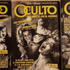 Cómics: 5 CÓMICS OCULTO, HILO DIRECTO CON EL MISTERIO.. Lote 118404796