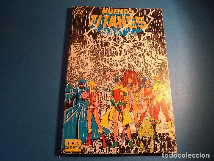 NUEVOS TITANES. TOMO. CONTIENE: 31-34-35-36 Y 37. (B-4). (Tebeos y Comics - Zinco - Nuevos Titanes)