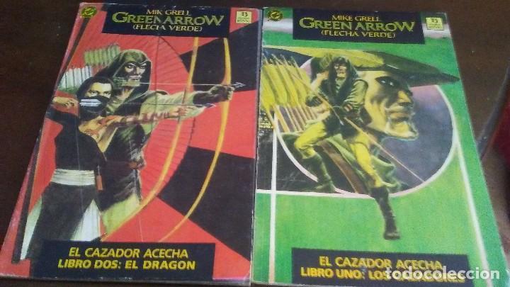 GREEN ARROW - EL CAZADOR ACECHA LIBRO UNO Y DOS (Tebeos y Comics - Zinco - Prestiges y Tomos)