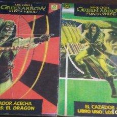 Cómics: GREEN ARROW - EL CAZADOR ACECHA LIBRO UNO Y DOS. Lote 118427783