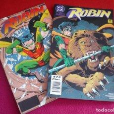 Cómics: ROBIN VOL. 2 1 Y 2 SALTO AL VACIO + LAS NUEVAS AVENTURAS ( DIXON ) ¡MUY BUEN ESTADO! ZINCO DC. Lote 118663575