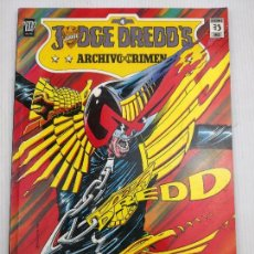 Cómics: JUDGE DREDD'S ARCHIVO DEL CRIMEN. Lote 118860195