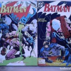 Cómics: BATMAN. JUSTICIA CIEGA. COMPLETA. 2 EJEMPLARES.. Lote 118865655