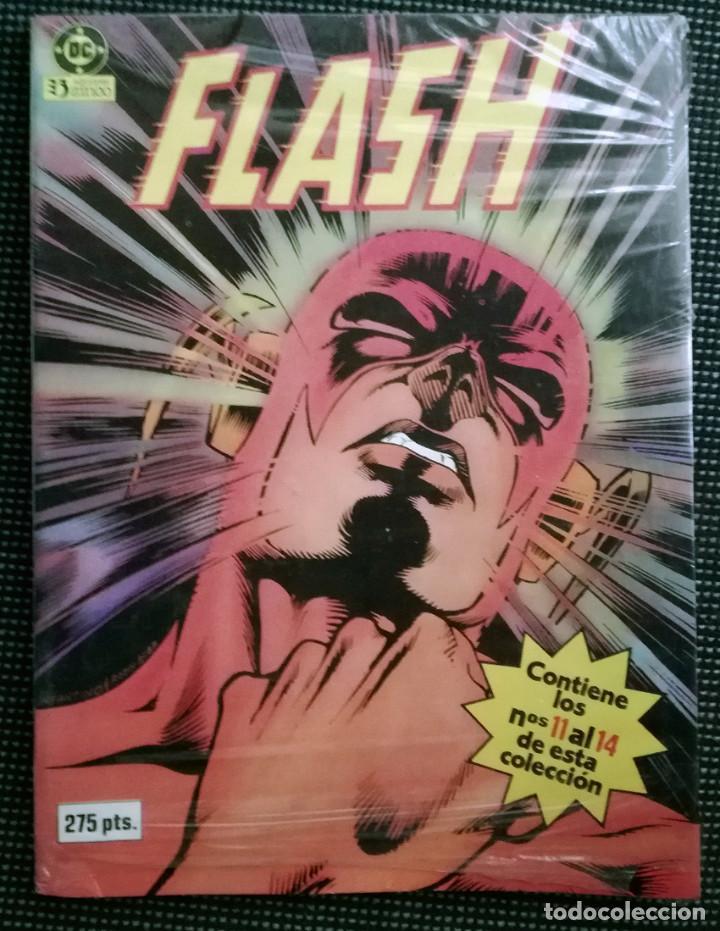 FLASH EXTRA 3 RETAPADO 11-12-13 Y 14 PRECINTADO (Tebeos y Comics - Zinco - Retapados)