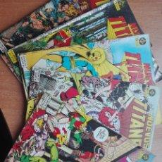 Cómics: NUEVOS TITANES.1A EDICION.NUMEROS 12,13,14,17,18.AÑO 1985. Lote 119189467