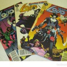 Cómics: LOTE 3 COMICS LOBO, GLADIADORES ESTELARES - ED. ZINCO + WILDCATS WILDC.A.T.S. Nº5 IMAGE. Lote 119270202