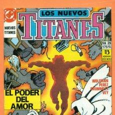 Cómics: LOS NUEVOS TITANES - Nº 25 - DC / ZINCO - COMIC. Lote 119452263