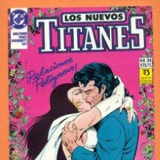 Cómics: LOS NUEVOS TITANES - Nº 24 - DC / ZINCO - COMIC. Lote 119452339