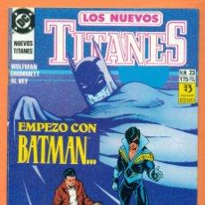 Cómics: LOS NUEVOS TITANES - Nº 23 - DC / ZINCO - COMIC. Lote 119452623