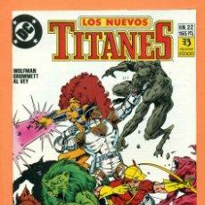 Cómics: LOS NUEVOS TITANES - Nº 22 - DC / ZINCO - COMIC. Lote 119452683