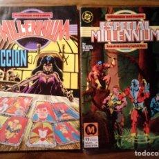 Cómics: MILLENIUM Nº 4 Y ESPECIAL MILLENIUM Nº 4. EDICIONES ZINCO. 1989.. Lote 119473827