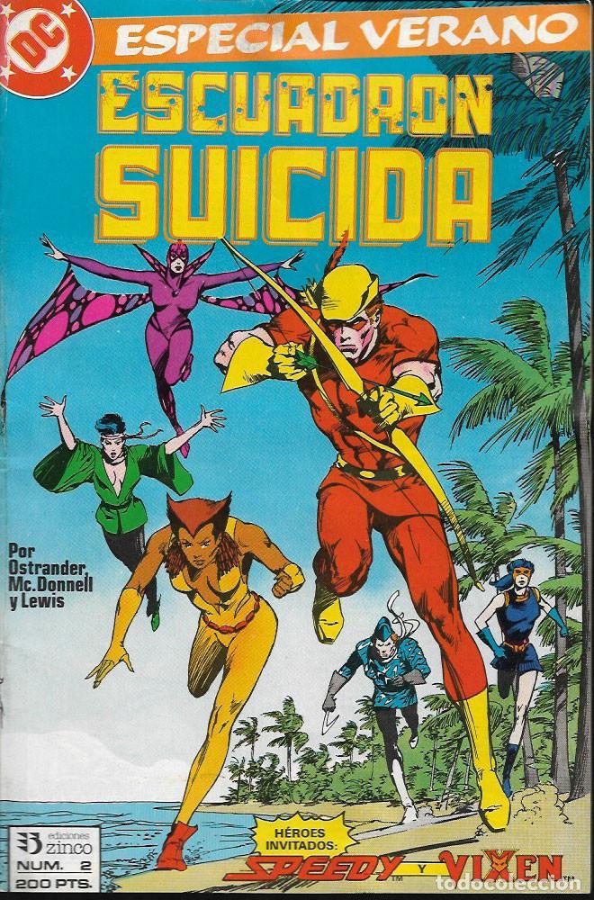 ESCUADRÓN SUICIDA - Nº 2 (Tebeos y Comics - Zinco - Otros)