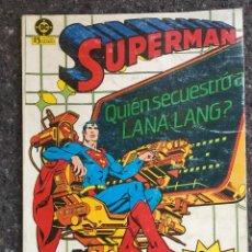 Cómics: SUPERMAN NÚMEROS 31 32 33 Y 34 EN UN RETAPADO - VOLÚMEN 1 DE ZINCO . Lote 119568431