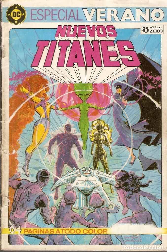 NUEVOS TITANES - ESPECIAL VERANO - EDICIONES ZINCO., 1984. (Tebeos y Comics - Zinco - Nuevos Titanes)
