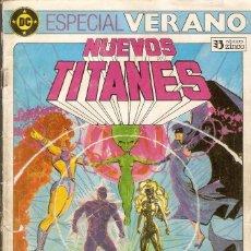 Cómics: NUEVOS TITANES - ESPECIAL VERANO - EDICIONES ZINCO., 1984.. Lote 119894131