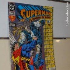 Cómics: SUPERMAN EL HOMBRE DE ACERO Nº 9 CON LOBO - ZINCO -. Lote 119903763