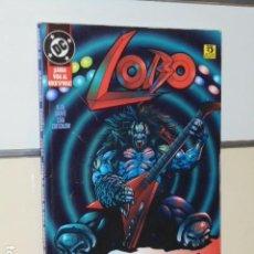 Cómics: LOBO LARGA VIDA AL ROCK AND ROLL ALAN GRANT - ZINCO- OCASION. Lote 120058523