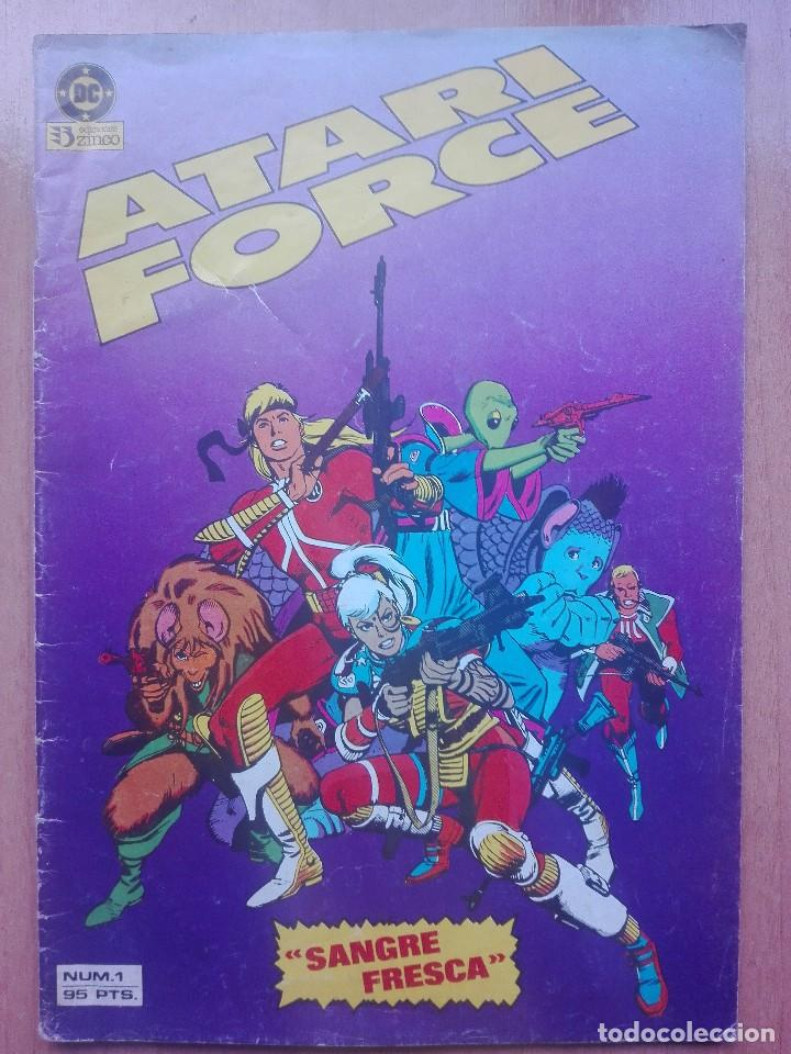 Cómics: Atari force numero 1.Volumen 1.1983.Zinco - Foto 1 - 120226803