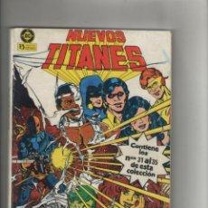 Cómics: NUEVOS TITANES-ZINCO-AÑO 1984-RETAPADO DE 4Nº-COLOR-TOMO 7-Nº 31 AL 35. Lote 120442855