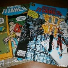 Cómics: LOTE 2 COMICS NUEVOS TITANES VOL. 1. Nº 36,37 - MARV WOLFMAN Y GEORGE PÉREZ - DC COMICS / ED. ZINCO,. Lote 120554727
