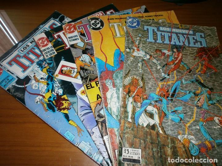 NUEVOS TITANES VOL. 2. Nº 3,4,25,26,41 - MARV WOLFMAN Y GEORGE PÉREZ - DC COMICS / ED. (Tebeos y Comics - Zinco - Nuevos Titanes)