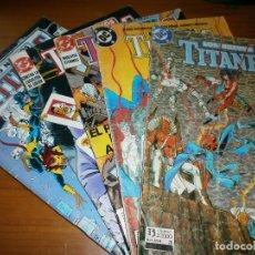 Cómics: NUEVOS TITANES VOL. 2. Nº 3,4,25,26,41 - MARV WOLFMAN Y GEORGE PÉREZ - DC COMICS / ED.. Lote 120555759