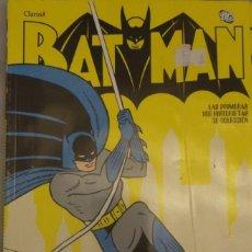 Cómics: BATMAN 100 PRIMERAS HISTORIETAS 16 LIBROS COLECCIÓN COMPLETA ARGENTINA 2012. Lote 120582075