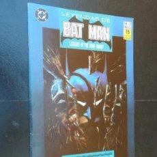 Cómics: LEYENDAS DE BATMAN - Nº 2 - EDICIONES ZINCO - . Lote 120637667