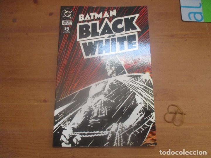 BATMAN. BLACK AND WHITE 1. EDICIONES ZINCO. EN CASTELLANO (Tebeos y Comics - Zinco - Batman)